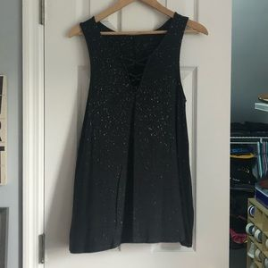 American Eagle Speckled Tank